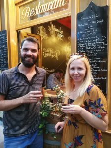 lyon bouchons / traditional food in Lyon