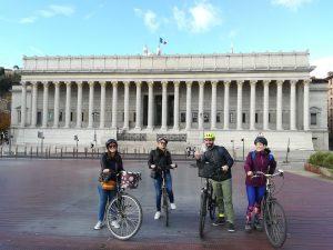private bike tour / visite en vélo privée